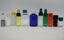 Vials and dropper bottles in PET