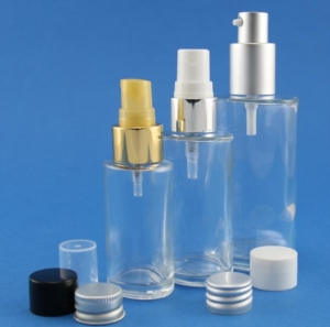 Neville and More's latest glass bottles and jars for cosmetic, fragrance and personal care products