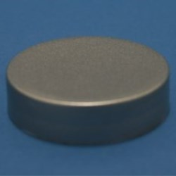 100mm 400 Silver Smooth Cap with epe liner