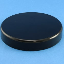 100mm Black Smooth Cap with boreseal